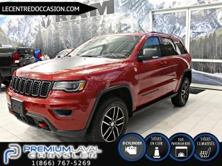 Used 2017 Jeep Grand Cherokee Trailhawk PLUS 4X4*V8/CUIR/TOIT PANO/NAV for sale in Laval, QC