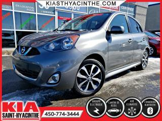 Used 2016 Nissan Micra SR ** MAGS / CAMÉRA DE RECUL for sale in St-Hyacinthe, QC
