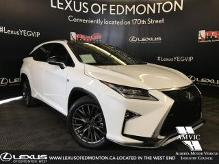 Used 2018 Lexus RX 350 F Sport Series 3 for sale in Edmonton, AB