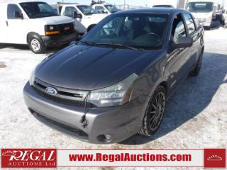 Used 2010 Ford Focus SES 4D Sedan 2.0L for sale in Calgary, AB