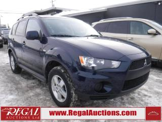 Used 2010 Mitsubishi Outlander 4D Utility 4WD for sale in Calgary, AB