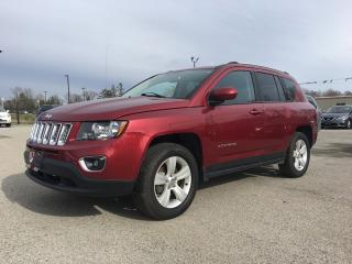 Used 2017 Jeep Compass *HEATED Seats - Driver AND PASSENGER*LEATHER*POWER MOONROOF*BLUETOOTH for sale in London, ON