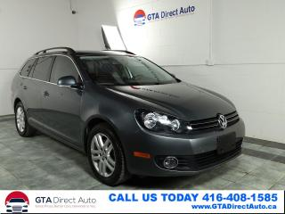 Used 2011 Volkswagen Golf Wagon Comfortline TDI Wagon Auto Alloys Clean Certified for sale in Toronto, ON