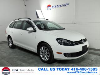 Used 2013 Volkswagen Golf Wagon Comfortline TDI Wagon 6-Speed Alloys Certified for sale in Toronto, ON