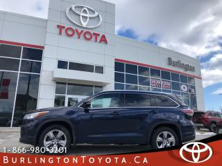 Used 2014 Toyota Highlander Limited BIG WARRANTY for sale in Burlington, ON