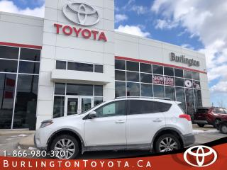Used 2015 Toyota RAV4 Limited Tech Package for sale in Burlington, ON