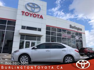 Used 2015 Toyota Corolla LE LOW KM'S for sale in Burlington, ON