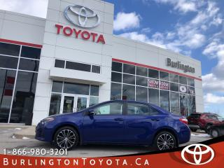Used 2016 Toyota Corolla S TECH PACKAGE for sale in Burlington, ON