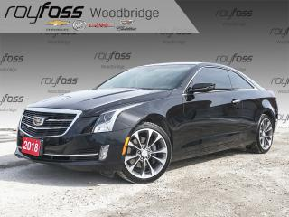 Used 2018 Cadillac ATS RED LEATHER, NAV, SUNROOF for sale in Woodbridge, ON
