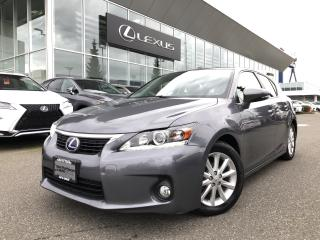 Used 2012 Lexus CT 200h CVT Local, LOW KMS, **Must SEE** for sale in North Vancouver, BC