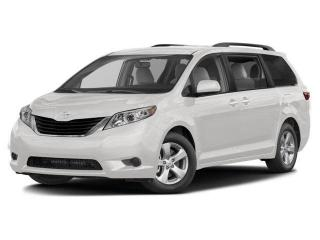 Used 2017 Toyota Sienna ONE OWNER, 0 ACCIDENTS, LEATHER, 7 SEATS, POWER DOORS for sale in North York, ON