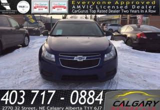Used 2013 Chevrolet Cruze 4dr Sdn LS w/1SA for sale in Calgary, AB