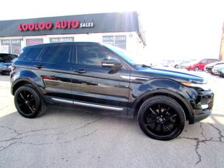 Used 2013 Land Rover Evoque PURE PREMIUM NAVIGATION CAMERA CERTIFIED 2YR WAARNTY for sale in Milton, ON