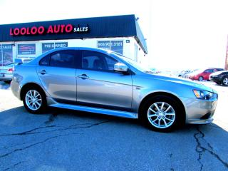 Used 2015 Mitsubishi Lancer ES 5 SPD MANUAL BLUETOOTH SUNROOF CERTIFIED WARRANTY for sale in Milton, ON