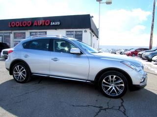 Used 2016 Infiniti QX50 QX50 AWD NAVIGATION CAMERA CERTIFIED WARRANTY for sale in Milton, ON