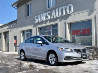 Used 2013 Honda Civic 4dr Auto LX for sale in Hamilton, ON
