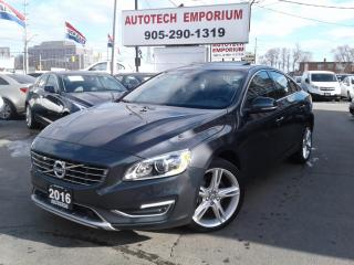 Used 2016 Volvo S60 T5 Special Edition AWD Navigation/Leather/Alloys for sale in Mississauga, ON