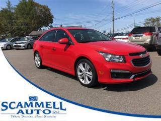 Used 2015 Chevrolet Cruze 2LT Auto for sale in Truro, NS
