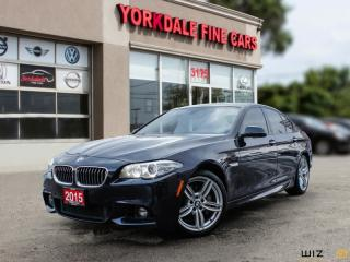 Used 2015 BMW 535xi i xDrive M SPORT, NAVIGATION, HEAD UP DISPLAY, 360 CAMERA for sale in Toronto, ON