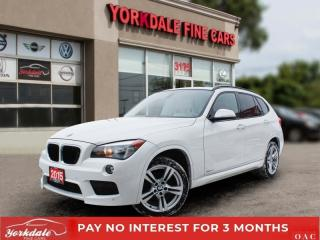 Used 2015 BMW X1 xDrive28i M SPORT, RED INTERIOR, PANORAMIC, NO ACCIDENTS for sale in Toronto, ON