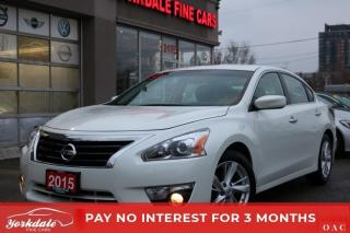 Used 2015 Nissan Altima 2.5 SV NAVIGATION. ALLOY RIMS. CAMERA. ROOF. ORIGINAL CAR for sale in Toronto, ON