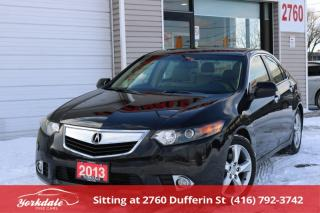 Used 2013 Acura TSX Premium Leather Sunroof, No Accidents, MINT ! for sale in Toronto, ON