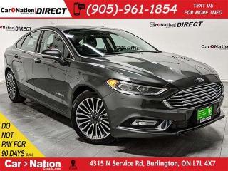 Used 2018 Ford Fusion Hybrid Titanium| LEATHER| SUNROOF| NAVI| for sale in Burlington, ON