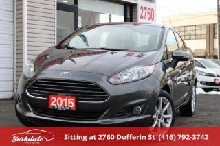 Used 2015 Ford Fiesta SE, Loaded, Bluetooth, Original Car for sale in Toronto, ON