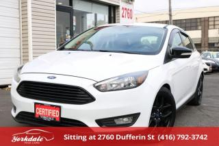 Used 2016 Ford Focus SE Reverse Camera. Hatchback Sport Appearance for sale in Toronto, ON