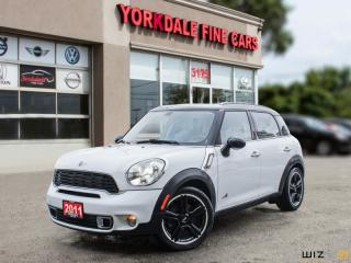 Used 2011 MINI Cooper Countryman AWD 4dr S ALL4, Panoramic, Leather, Clean for sale in Toronto, ON