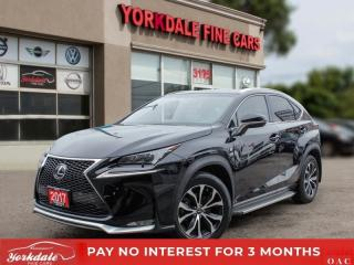 Used 2017 Lexus NX 200t F SPORT 2, NAVIGATION, CAMERA, ROOF for sale in Toronto, ON