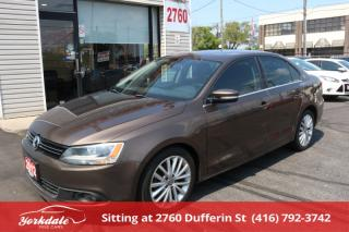 Used 2012 Volkswagen Jetta 2.0 TDI Highline Navigation. Leather. Roof. No Accident for sale in Toronto, ON