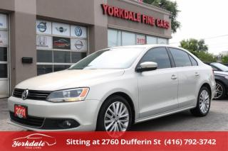 Used 2011 Volkswagen Jetta 2.0 TDI Highline Navigation. Leather. Roof. No Accidents for sale in Toronto, ON