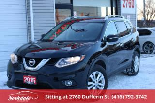 Used 2015 Nissan Rogue SV AWD, Panoramic roof, Camera, No Accidents for sale in Toronto, ON