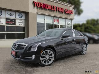 Used 2014 Cadillac ATS 2.0L Turbo 2.0L, ATS4,NAVIGATION, DISTRONIC, CAMERA, NON COL for sale in Toronto, ON