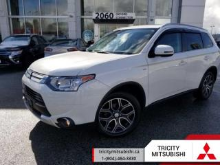 Used 2015 Mitsubishi Outlander OUTLANDER GT  NAVI-SUNROOF for sale in Port Coquitlam, BC
