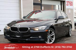 Used 2015 BMW 320i xDrive i xDrive SPORT LINE, NAVIGATION, NON ACCIDENT, BLK ON RED for sale in Toronto, ON