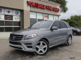 Used 2013 Mercedes-Benz ML-Class ML350 BLUTEC, NAVIGATION, PANORAMIC, AMG PKG, NO ACCIDENTS for sale in Toronto, ON
