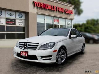 Used 2012 Mercedes-Benz C-Class C300 4MATIC, SUNROOF, LEATHER, CLEAN for sale in Toronto, ON