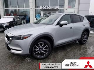 Used 2018 Mazda CX-5 GT  HEATED LEATHER SEATS-SUNROOF for sale in Port Coquitlam, BC