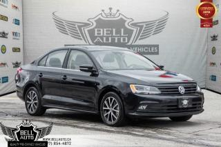 Used 2015 Volkswagen Jetta Sedan Comfortline, BACK-UP CAM, SUNROOF, HEATED SEATS, BLUETOOTH for sale in Toronto, ON