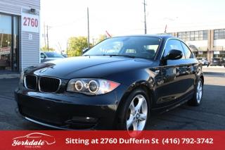 Used 2010 BMW 128I i 68000 KLM ALL ORIGINAL. LEATHER. ROOF for sale in Toronto, ON
