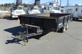Used 2014 SURE-TRAC 14 Foot Tandem Axle Hydraulic Dump Trailer for sale in Burnaby, BC