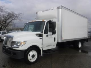 Used 2014 International TerraStar 18 foot Cube Van Diesel With Power Tailgate for sale in Burnaby, BC
