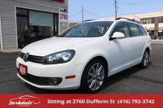 Used 2013 Volkswagen Golf 2.0 TDI Highline Panoramic Roof. Leather. Very Clean for sale in Toronto, ON