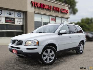 Used 2011 Volvo XC90 3.2 DVD LEATHER SUNROOF BLUETOOTH ALLOY RIMS PARKING SENSORS for sale in Toronto, ON