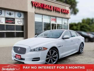 Used 2015 Jaguar XJ 20' RIMS PAN SUNROOF, NAVI, BACK UP CAM, MASSAGE SEATS, for sale in Toronto, ON