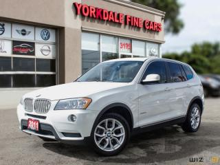 Used 2011 BMW X3 AWD 28i, Panoramic, Navigation, No Accidents for sale in Toronto, ON