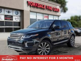 Used 2016 Land Rover Evoque SE, Panoramic, Navigation, Camera, Original for sale in Toronto, ON