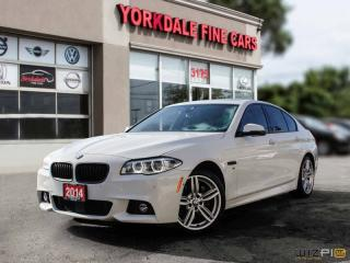 Used 2014 BMW 5 Series 535d xDrive, M Sport, Navigation, 360 Camera, HUD for sale in Toronto, ON